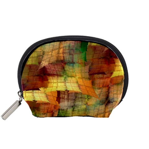 Indian Summer Funny Check Accessory Pouches (Small)