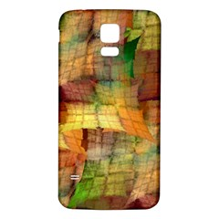 Indian Summer Funny Check Samsung Galaxy S5 Back Case (White)