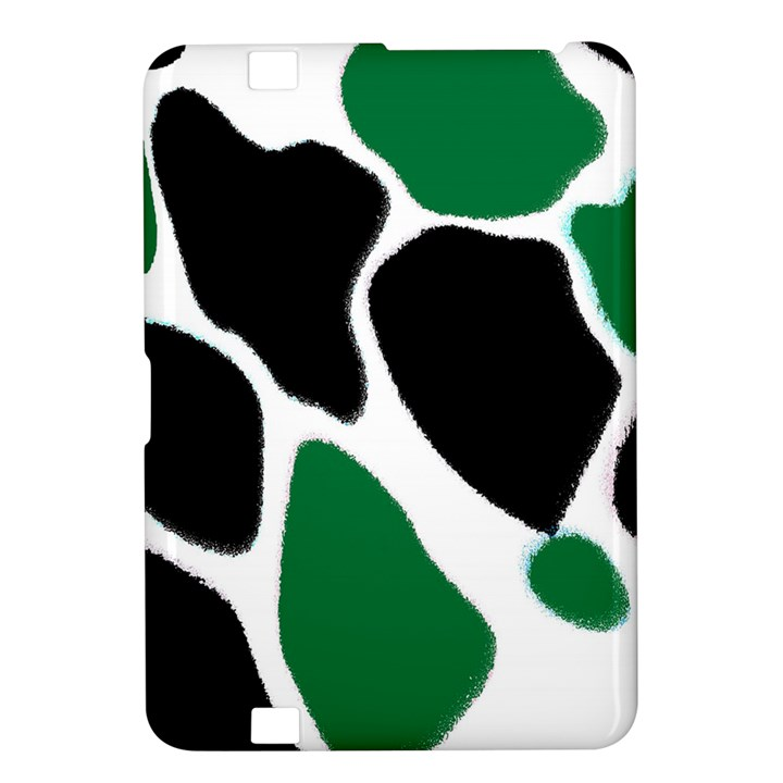 Green Black Digital Pattern Art Kindle Fire HD 8.9