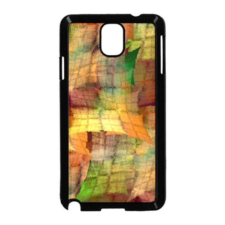 Indian Summer Funny Check Samsung Galaxy Note 3 Neo Hardshell Case (Black)