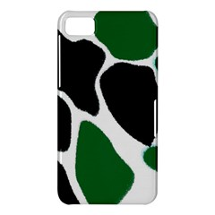 Green Black Digital Pattern Art BlackBerry Z10