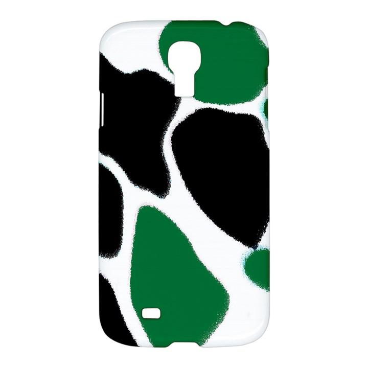 Green Black Digital Pattern Art Samsung Galaxy S4 I9500/I9505 Hardshell Case