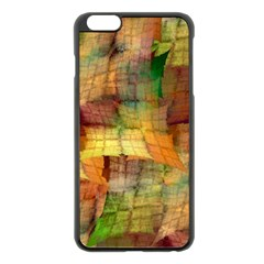 Indian Summer Funny Check Apple iPhone 6 Plus/6S Plus Black Enamel Case