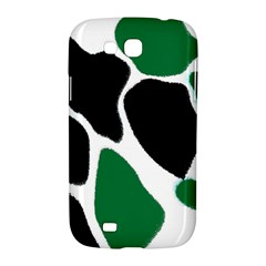 Green Black Digital Pattern Art Samsung Galaxy Grand GT-I9128 Hardshell Case