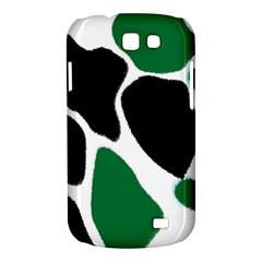 Green Black Digital Pattern Art Samsung Galaxy Express I8730 Hardshell Case