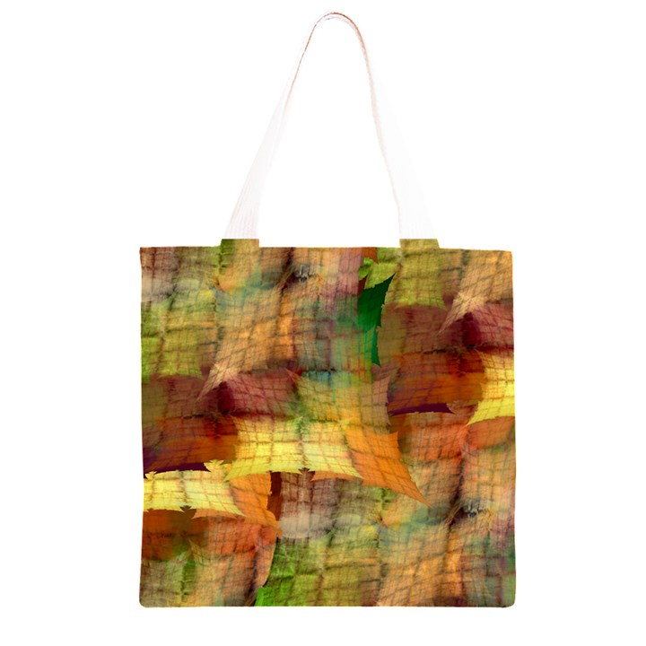 Indian Summer Funny Check Grocery Light Tote Bag