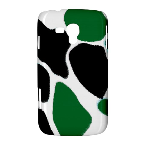 Green Black Digital Pattern Art Samsung Galaxy Duos I8262 Hardshell Case