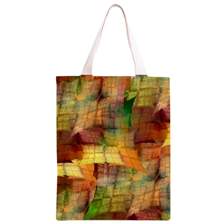 Indian Summer Funny Check Classic Light Tote Bag
