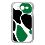 Green Black Digital Pattern Art Samsung Galaxy Grand DUOS I9082 Case (White) Front