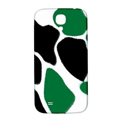 Green Black Digital Pattern Art Samsung Galaxy S4 I9500/I9505  Hardshell Back Case