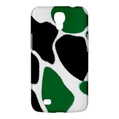 Green Black Digital Pattern Art Samsung Galaxy Mega 6.3  I9200 Hardshell Case