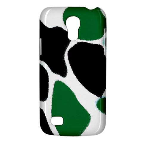 Green Black Digital Pattern Art Galaxy S4 Mini