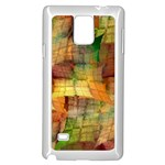 Indian Summer Funny Check Samsung Galaxy Note 4 Case (White) Front