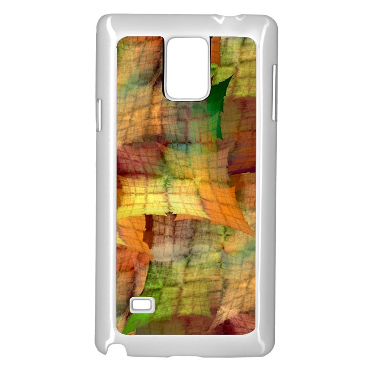 Indian Summer Funny Check Samsung Galaxy Note 4 Case (White)