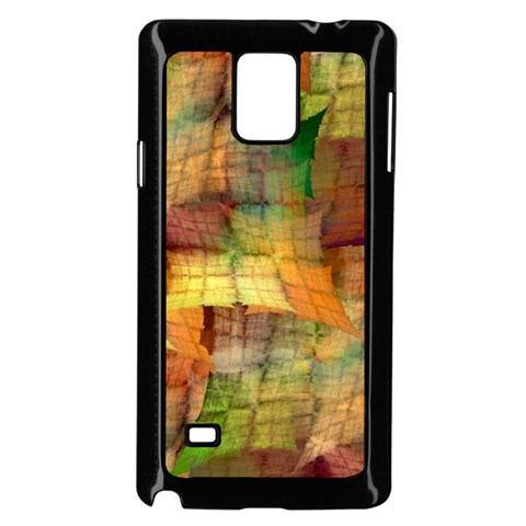 Indian Summer Funny Check Samsung Galaxy Note 4 Case (Black)