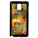 Indian Summer Funny Check Samsung Galaxy Note 4 Case (Black) Front