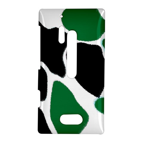 Green Black Digital Pattern Art Nokia Lumia 928