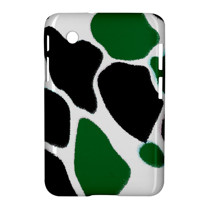 Green Black Digital Pattern Art Samsung Galaxy Tab 2 (7 ) P3100 Hardshell Case