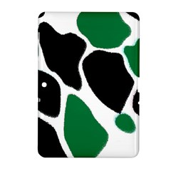 Green Black Digital Pattern Art Samsung Galaxy Tab 2 (10.1 ) P5100 Hardshell Case