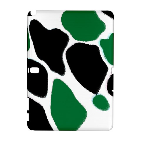 Green Black Digital Pattern Art Samsung Galaxy Note 10.1 (P600) Hardshell Case