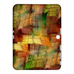 Indian Summer Funny Check Samsung Galaxy Tab 4 (10.1 ) Hardshell Case