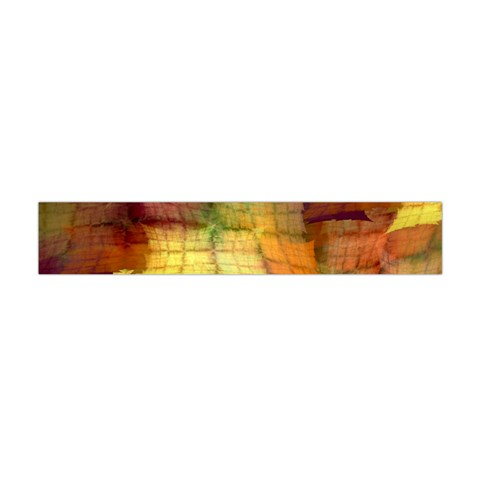 Indian Summer Funny Check Flano Scarf (Mini)