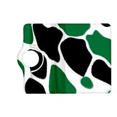 Green Black Digital Pattern Art Kindle Fire HD (2013) Flip 360 Case