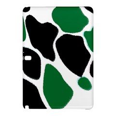 Green Black Digital Pattern Art Samsung Galaxy Tab Pro 12.2 Hardshell Case