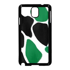 Green Black Digital Pattern Art Samsung Galaxy Note 3 Neo Hardshell Case (Black)