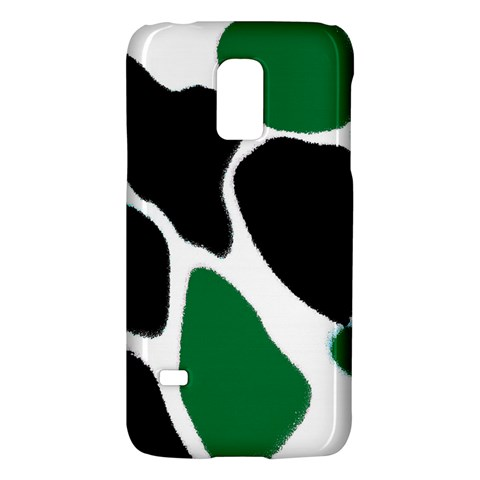 Green Black Digital Pattern Art Galaxy S5 Mini
