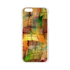 Indian Summer Funny Check Apple Seamless iPhone 6/6S Case (Transparent)