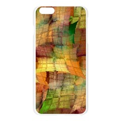 Indian Summer Funny Check Apple Seamless iPhone 6 Plus/6S Plus Case (Transparent)