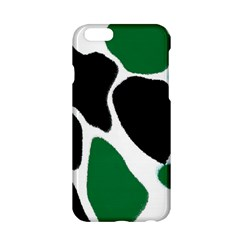 Green Black Digital Pattern Art Apple iPhone 6/6S Hardshell Case