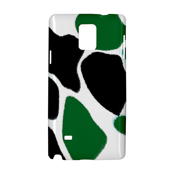 Green Black Digital Pattern Art Samsung Galaxy Note 4 Hardshell Case