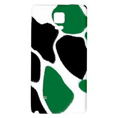 Green Black Digital Pattern Art Galaxy Note 4 Back Case