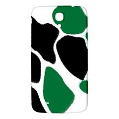 Green Black Digital Pattern Art Samsung Galaxy Mega I9200 Hardshell Back Case