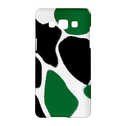 Green Black Digital Pattern Art Samsung Galaxy A5 Hardshell Case