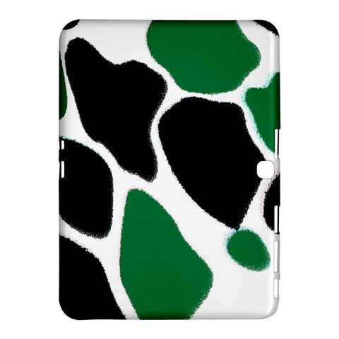 Green Black Digital Pattern Art Samsung Galaxy Tab 4 (10.1 ) Hardshell Case