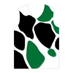 Green Black Digital Pattern Art Men s Basketball Tank Top