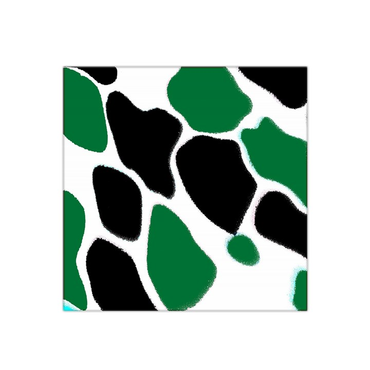 Green Black Digital Pattern Art Satin Bandana Scarf