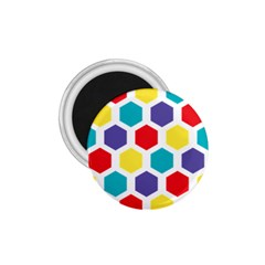 Hexagon Pattern  1.75  Magnets