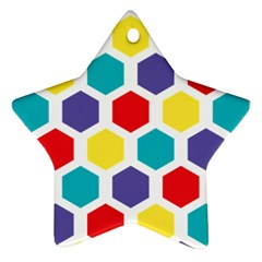 Hexagon Pattern  Ornament (Star)
