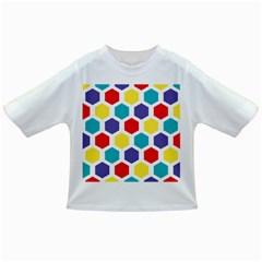 Hexagon Pattern  Infant/Toddler T-Shirts