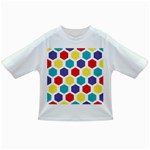 Hexagon Pattern  Infant/Toddler T-Shirts Front