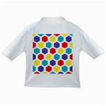 Hexagon Pattern  Infant/Toddler T-Shirts Back