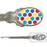 Hexagon Pattern  Letter Openers Front