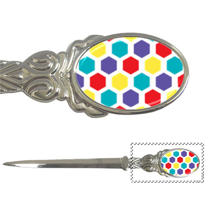 Hexagon Pattern  Letter Openers