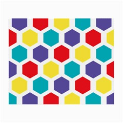Hexagon Pattern  Small Glasses Cloth