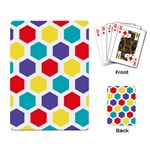 Hexagon Pattern  Playing Card Back