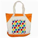 Hexagon Pattern  Accent Tote Bag Front